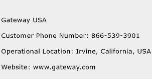 Gateway USA Phone Number Customer Service
