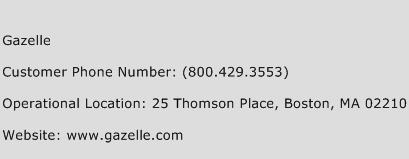 Gazelle Phone Number Customer Service