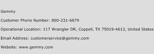 Gemmy Phone Number Customer Service