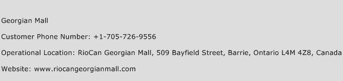 Georgian Mall Phone Number Customer Service