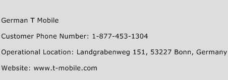 click here to view german t mobile customer service phone numbers