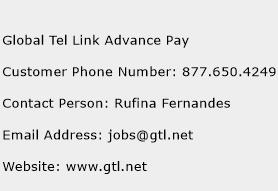 Global Tel Link Advance Pay Phone Number Customer Service