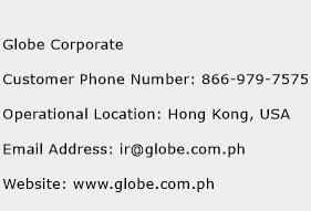 Globe Corporate Phone Number Customer Service