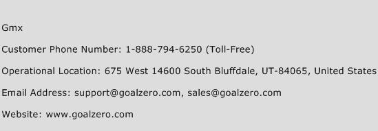 Gmx Phone Number Customer Service