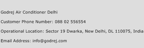 Godrej Air Conditioner Delhi Phone Number Customer Service