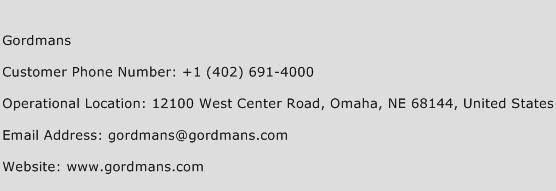 Gordmans Phone Number Customer Service