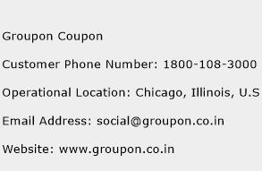 Groupon Coupon Phone Number Customer Service