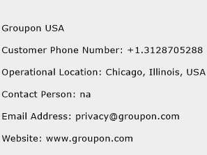 groupon customer service phone number