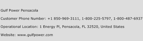 Gulf Power Pensacola Phone Number Customer Service