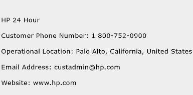 HP 24 Hour Phone Number Customer Service