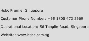 HSBC Premier Singapore Phone Number Customer Service