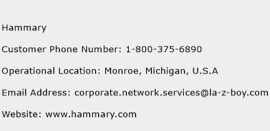 Hammary Phone Number Customer Service
