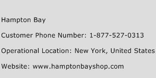 Hampton Bay Phone Number Customer Service