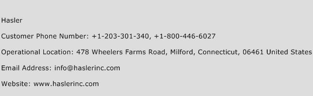 Hasler Phone Number Customer Service