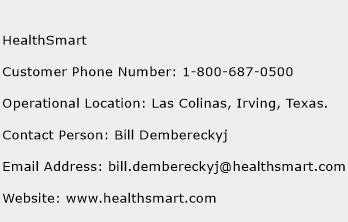 HealthSmart Phone Number Customer Service