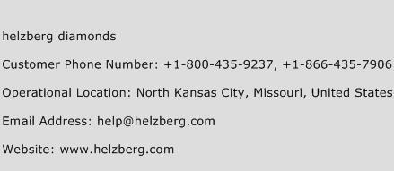 Helzberg Diamonds Phone Number Customer Service