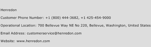 Henredon Phone Number Customer Service