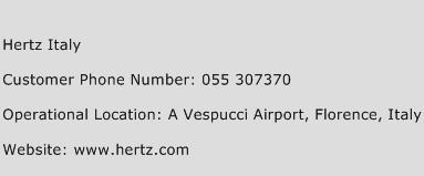 Hertz Italy Phone Number Customer Service