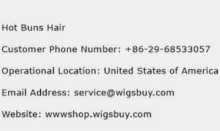 Hot Buns Hair Phone Number Customer Service