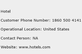 Hotel Phone Number Customer Service