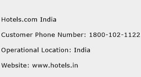 Click Here To View Hotels India Customer Care Numbers