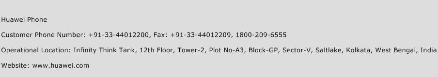 Huawei Phone Phone Number Customer Service