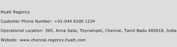 Hyatt Regency Phone Number Customer Service