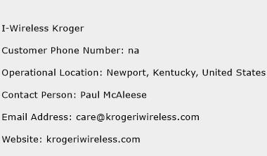I-Wireless Kroger Phone Number Customer Service