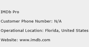 IMDb Pro Phone Number Customer Service