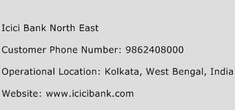 Icici Bank North East Phone Number Customer Service