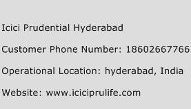 Icici Prudential Hyderabad Phone Number Customer Service