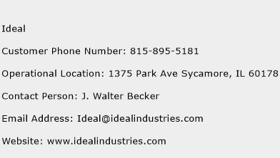 Ideal Phone Number Customer Service
