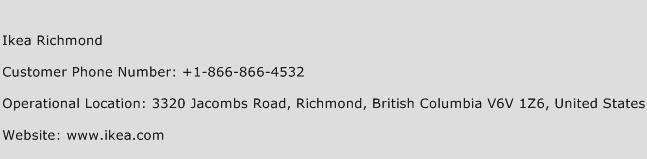 Ikea Richmond Phone Number Customer Service