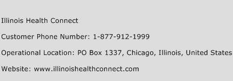 Illinois Health Connect Phone Number Customer Service