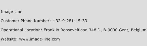 Image Line Phone Number Customer Service