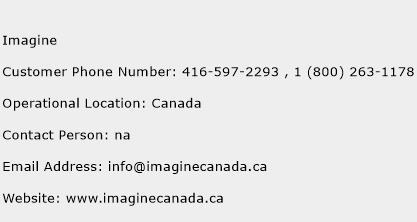 Imagine Phone Number Customer Service