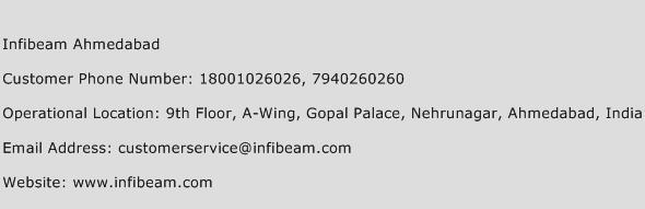 Infibeam Ahmedabad Phone Number Customer Service