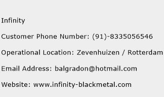 Infinity Phone Number Customer Service