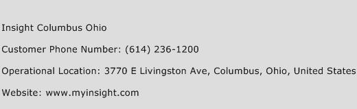 Insight Columbus Ohio Phone Number Customer Service