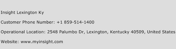 Insight Lexington Ky Phone Number Customer Service