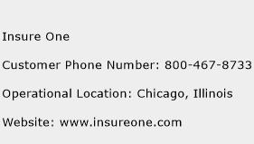 Insure One Phone Number Customer Service