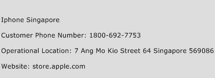 Iphone Singapore Phone Number Customer Service