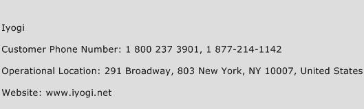 Iyogi Phone Number Customer Service
