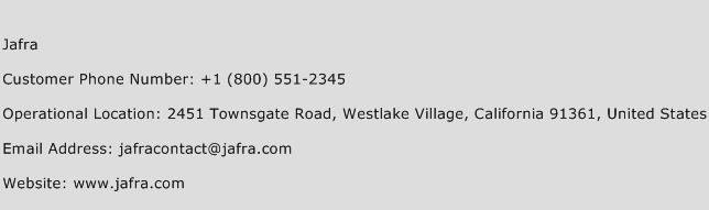 Jafra Phone Number Customer Service
