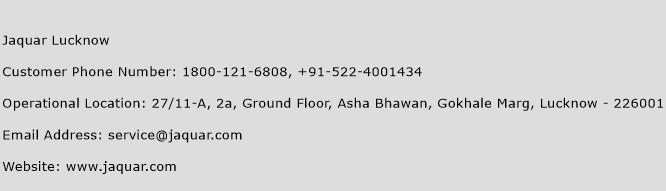 Jaquar Lucknow Phone Number Customer Service