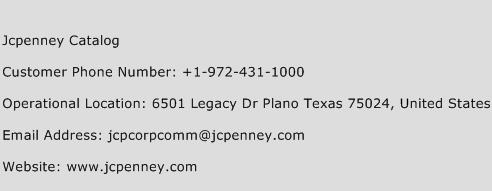 Jcpenney Catalog Number Jcpenney Catalog Customer Service