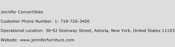 Jennifer Convertibles Phone Number Customer Service