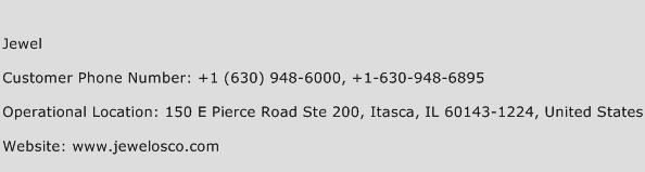 Jewel Phone Number Customer Service