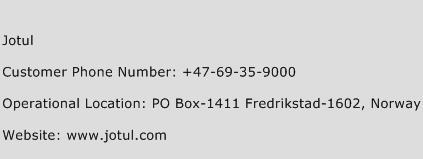 Jotul Phone Number Customer Service