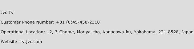 Jvc Tv Phone Number Customer Service
